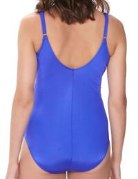 6157 Fantasie Los Cabos Underwired Wrap Swimsuit - 6157 Cobalt
