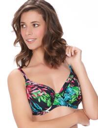 6206 Fantasie Mahe Full Cup Bikini Top Multi  - 6206 Full Cup Bikini Top