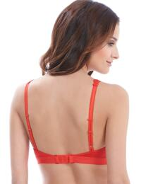 852191 Wacoal Embrace Lace Soft Cup Bralette Bra - 852191 Poppy Red