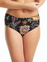 6384 Fantasie Kerala Deep Gathered Side Bikini Brief - 6384 Multi