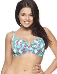1401 Curvy Kate Birds of Paradise Bikini Top - CS1401 Bikini Top