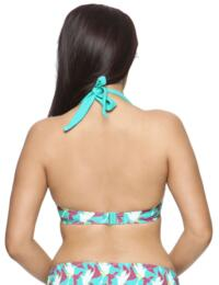 1421 Curvy Kate Birds of Paradise Halter Top - CS1421 Halter Top
