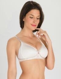 P05FA Playtex Ideal Beauty Soft Cup Bra Antique White - P05FA Antique White