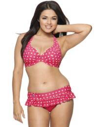 1321 Curvy Kate Seashell Halterneck Bikini Top - 1321 Bikini Top