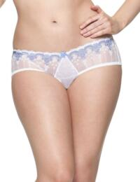 1503 Cury Kate Romance Short White/China Blue - 1503 Short