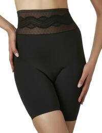 Y960 Aubade Plumetischic High Waist Control Panty - Y960 Noir