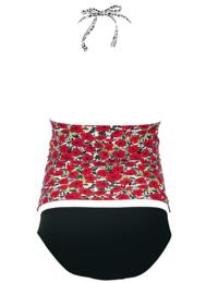 9631 Anita Two-Piece Maternity Tankini And Bikini Brief Swimwear Set - 9631 Original (Floral Print)