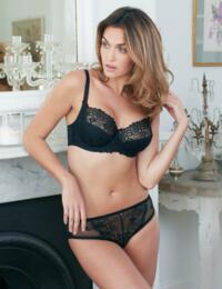1490040 Charnos Suzette Balcony Bra - 1490040 Black