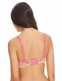 065191 Wacoal Embrace Lace Underwire Bra - 065191 Pink Lemonade/Cream Puff