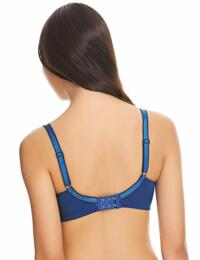 855290 Wacoal Basic Benefits Underwired Bra - 855290 Navy Peony/Infinity