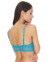 910182 B.tempt'd Lace Kiss Bralette - 910182 Barrier Reef Blue