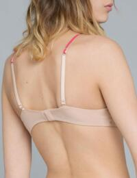 17333 Maison Lejaby Baisers De Paris Underwired Full Cup Bra - 17333 Rose Tattoo