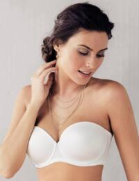 5640 Rosa Faia by Anita Padded Basic Underwired Strapless Multiway Bra - 5640 White