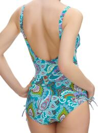 6272 Fantasie Viana V-Neck Swimsuit Multi - 6272 Swimsuit