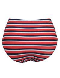 85005 Pour Moi Hamptons Deep Bikini Brief - 85005 Multi Stripe