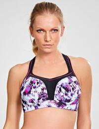 5021A Panache Underwired Ultimate Sports Bra - 5021A Painterly