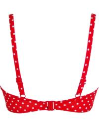 3900 Pour Moi? Hot Spots Padded Bikini Top - 3900 Red