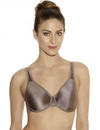 855192 Wacoal Basic Beauty Full Figure Bra - 855192 Cappuccino