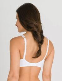 P04MV Playtex Flower Lace Underwired Moulded Spacer Bra - P04MV White