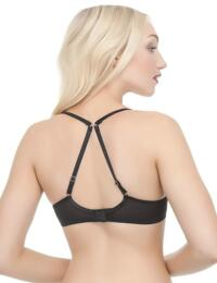 358101 Ultimo Cassia OMG Underwired Plunge Bra (A-D CUP) - 385101 Noir