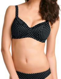 3026 Freya Pier Deep Plunge Bikini Top (GG-JJ) - 3026 Black
