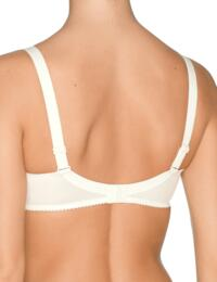 0161330 Prima Donna Satin Underwired Seamless Non-Padded Full Cup Bra - 0161330 Natural
