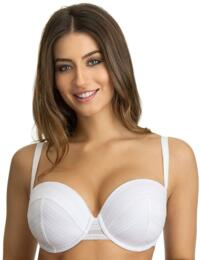 355900 Ultimo Lori Underwired Moulded Padded Fuller Bust Balcony Bra - 355900 White