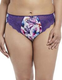 4115 Elomi Morgan Brief - 4115 Purple Lily