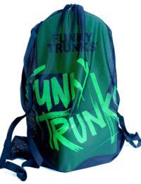 FTG010A Funky Trunks Mesh Gear Bag - FTG010A00771 Still Black