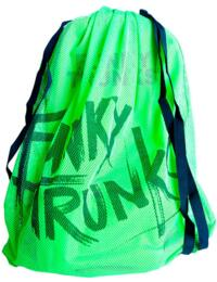 FTG010A00772 Funky Trunks Mesh Gear Bag - FTG010A00772 Still Brasil