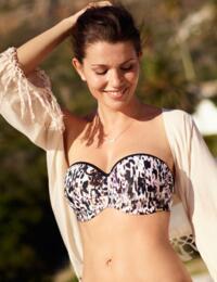 SW1053 Panache Florentine Bandeau Bikini Top - SW1053 Animal Print