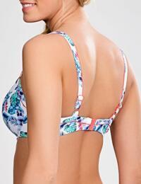 SW0872 Panache Elle Balcony Bikini Top White/Tropical - SW0872 White/Tropical