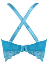be093ed0a1 ... 1501 Pour Moi  Amour Underwired Convertible Bralette Bra - 1501 Teal  Raspberry