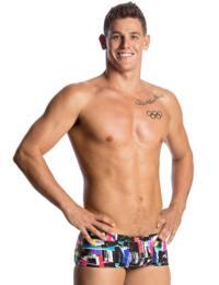 FT30M01802 Funky Trunks Men's Classic Swim Trunks - FT30M01802 Test Signal