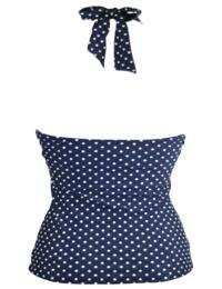 3907 Pour Moi? Hot Spots Underwired Tankini Top - 3907 Navy