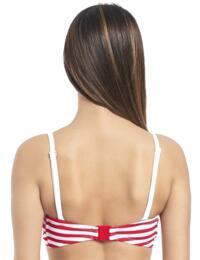 4049 Freya Drift Away Twist Multiway Bandeau Bikini Top - 4049 Red