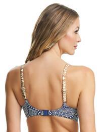 6249 Fantasie Granada Underwired Gathered Full Cup Bikini Top - 6249 Ink