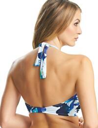 6368 Fantasie Capri Underwired Twist Bandeau Bikini Top - 6368 Surf