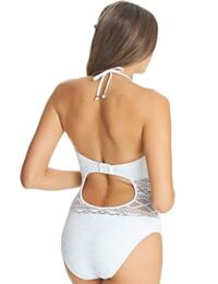 ca250e6f13cd8 ... 3974 Freya Sundance Underwired High Neck Swimsuit - 3974 White ...