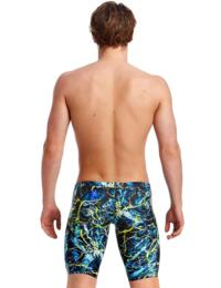 FT37M01986 Funky Trunks Mens Midnight Marble Training Jammers - FT37M01986 Midnight Marble