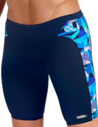 FT37M01992 Funky Trunks Mens Crack Attack Training Jammers - FT37M01992 Crack Attack