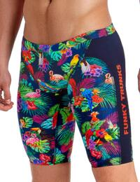 FT37M01979 Funky Trunks Mens Tropic Team Training Jammers - FT37M01979 Tropic Team