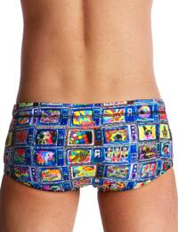 FT32B02008 Funky Trunks Boys Square Eyes Classic Swim Trunks - FT32B02008 Square Eyes