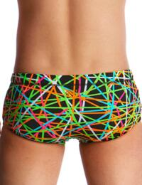 FT32B02005 Funky Trunks Boys Strapped In Classic Swim Trunks - FT32B02005 Strapped In