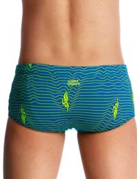 FT32B02001 Funky Trunks Boys Ripple Effect Classic Swim Trunks - FT32B02001 Ripple Effect