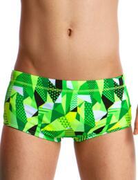 FT32B01993 Funky Trunks Boys Go Ballistic Classic Swim Trunks - FT32B01993 Go Ballistic