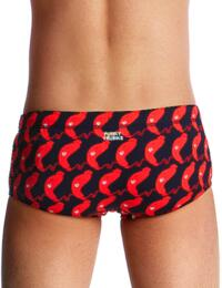 FT32B02007 Funky Trunks Boys The Great Sausage Run Classic Swim Trunks - FT32B02007 The Great Sausage Run