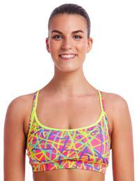 FS02L02006 Funkita Ladies Bound Up Sports Bikini Top - FS02L02006 Bound Up
