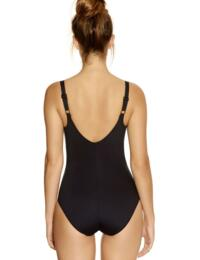 5754 Fantasie Versailles Twist Front Swimsuit - 5754 Black