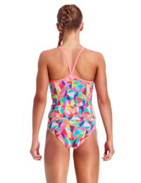 FS17G01994 Funkita Girls Pastel Patch Tankini & Bikini Brief Set - FS17G01994 Pastel Patch
